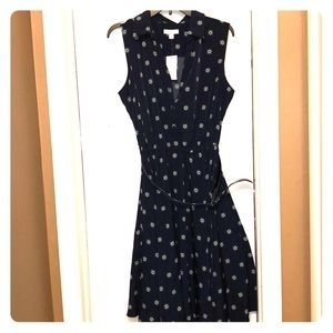 NWT Charter Club Navy Dress